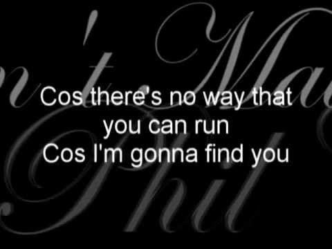 Phil Collins - It Don't Matter To Me (lyrics)