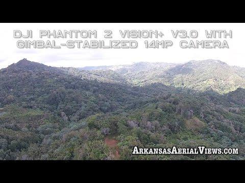 Arkansas Aerial Views in the skies of Adjuntas, Puerto Rico
