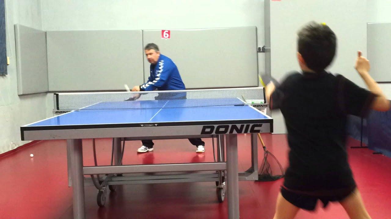 antrenament rever ,,tenis de masa''