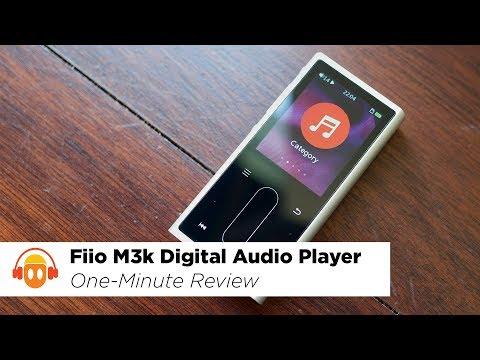 Fiio M3k Digital Audio Player Overview (4K) - Minidisc in a Minute