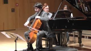 Mladen Miloradovic plays Claude Debussy Sonata for Cello and Piano in D minor