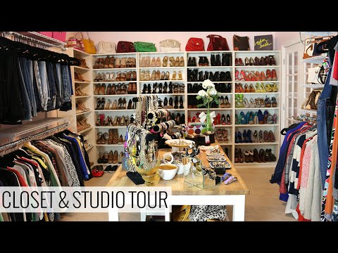 My Closet and Studio Tour