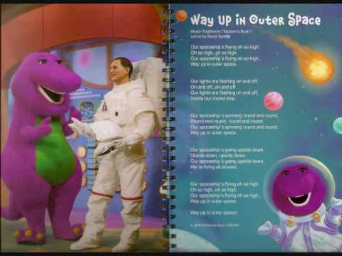 Barney's Sing Along In Outer Space Cassette