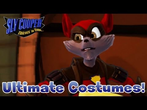 Sly Cooper Thieves In Time Ultimate Costumes Youtube
