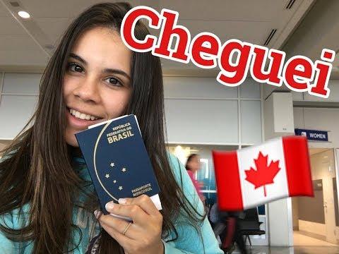 Aeroporto E Chegada // Diário De Intercâmbio Canadá #02