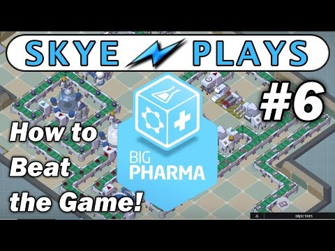 Big Pharma Part 6 ►Show Me The Money (1 of 3)◀ Tutorial/Beta Gameplay