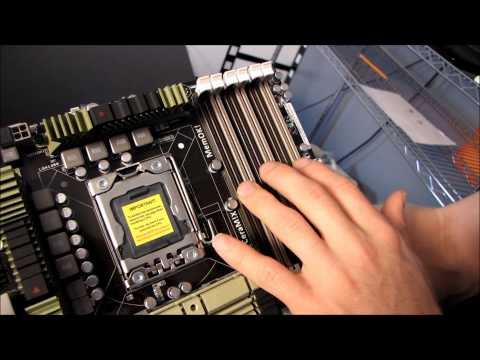 ASUS Sabertooth X58 Military Grade Gaming Motherboard Unboxing & First Look Linus Tech Tips