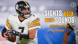 Mic'd Up Sights & Sounds: Pittṡburgh Steelers Week 1 win over the New York Giants