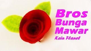Proses membuat bros bunga mawar kain flanel sangat cocok bagi pemula, selain itu warna dapat disesuikan dengan pada umumnya, memilih w...