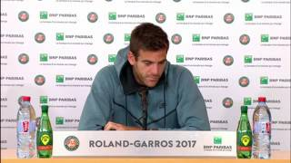 Del Potro: Not easy to see a good friend crying.