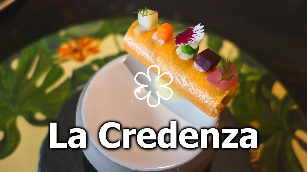 Ristorante La Credenza Michelin : Pranzo di tartufo al ristorante la credenza una stella michelin