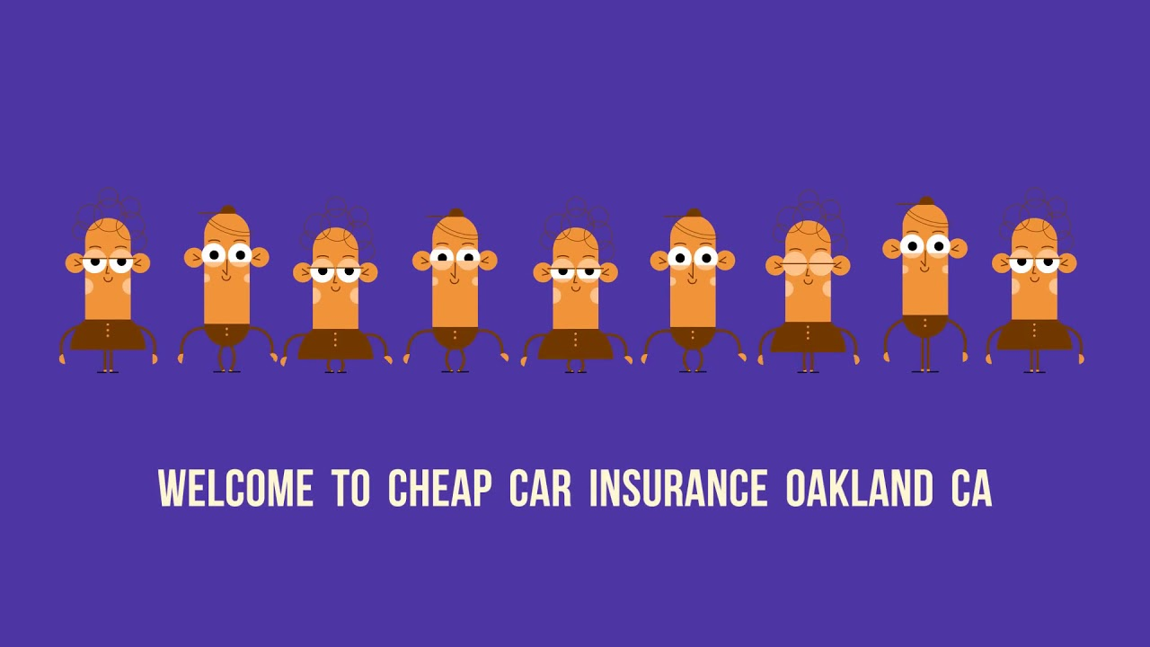 Cheap Car Insurance in Oakland CA