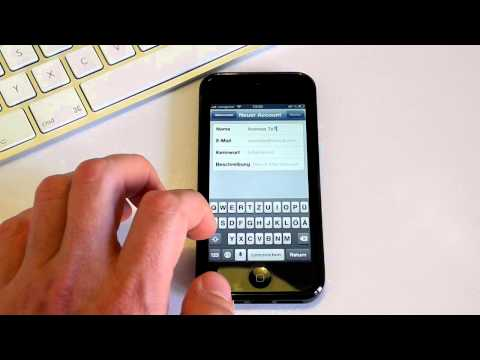 IPhone 5 - GMX Mail Auf IPhone Einrichten