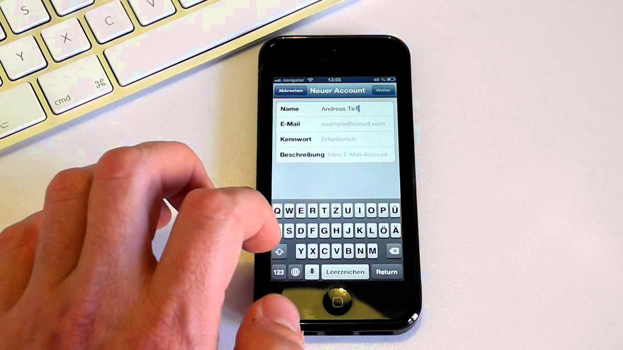 Gmx mails auf iphone löschen