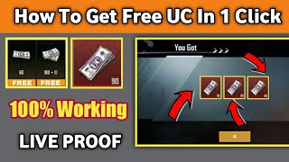 How To Get Free UC in 1 Click ! Get Free UC in Free Crate ! How To Get Free UC In Pubg Mobile 2020