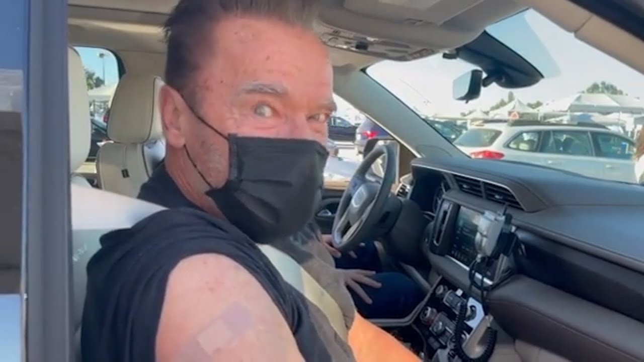 Now Arnold Schwarzenegger want us all to get vaccinated.