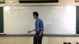 Factorising a Polynomial of Degree 6