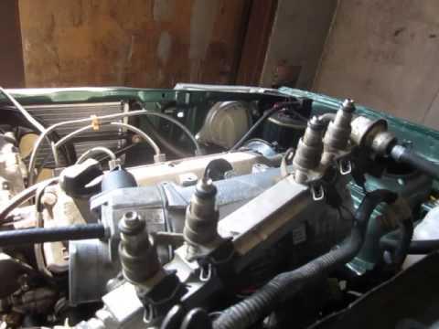 Робота форсунок інжекторного двигуна
