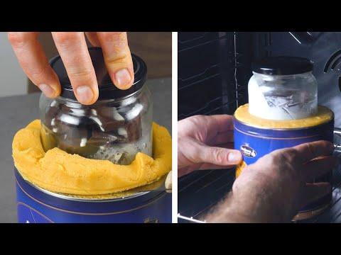 mettez-le-verre-dans-la-pâte-et-enfournez-|-gâteau-créatif-en-forme-de-tasse