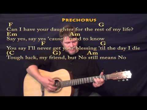 Rude (MAGIC!) Strum Guitar Cover Lesson with Chords/Lyrics