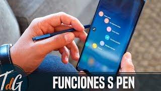 TODAS las funciones del S-Pen del Galaxy Note 8