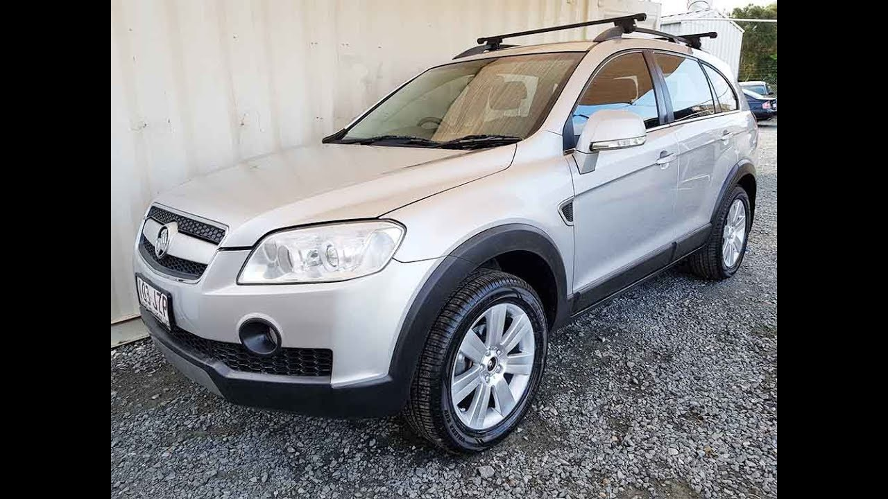 (SOLD) Automatic Cars. 7 Seat 4x4 SUV Holden Captiva 2007