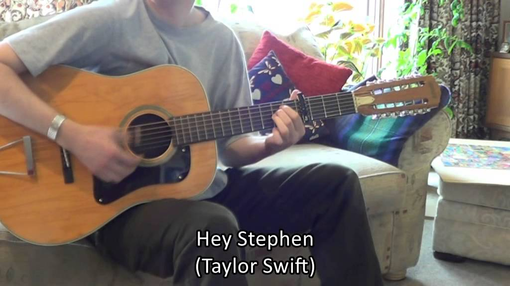 Playing On The 12 String Guitar With 6 Strings