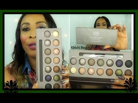 Laura Gellar The Delectables Eye Shadow Palette Review Smokey