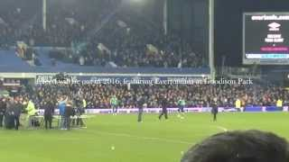 Filming for new Rocky film (Creed) at Goodison Park