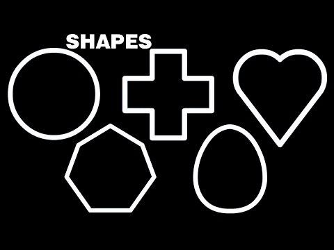 Shapes for Kindergarten Children's Songs Kids Learning Videos Shapes Rhymes