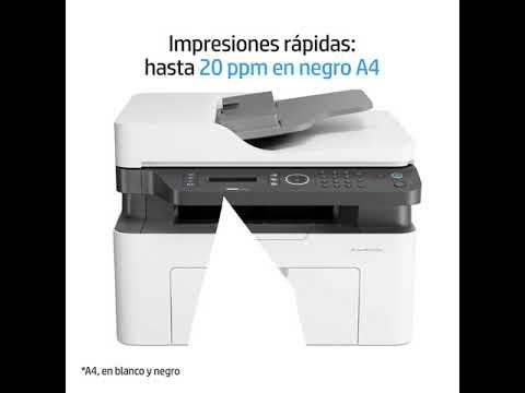 Impresora HP Laser MFP 137fnw