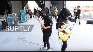 Of course Islam and metal go together! Meet the all-female Voice of Baceprot