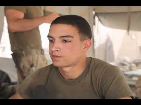 3rd Battalion, 4th Marines in Afghanistan talk about 9/11