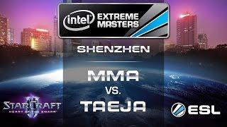 MMA vs. Taeja - TvT - Group D - IEM Shenzhen - StarCraft 2
