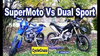 Dual Sport Vs SuperMoto - Which is More Fun?