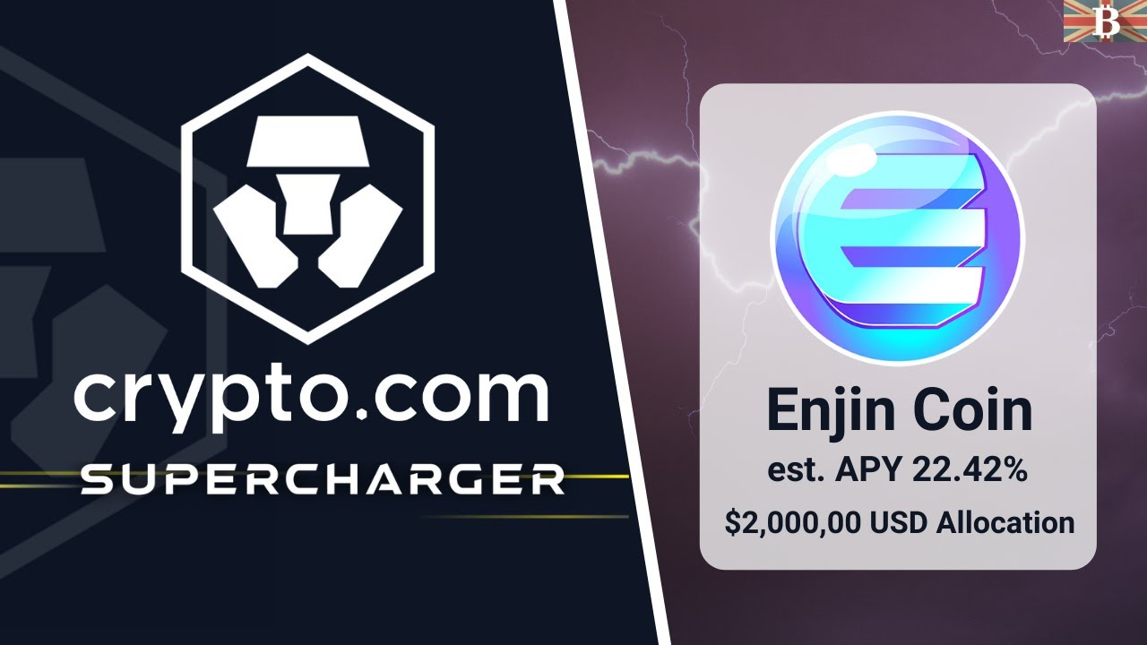 Crypto.com Biggest Supercharger Event: Earn Enjin $ENJ Token (+22% APY)