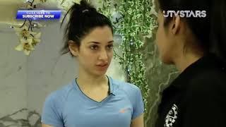 Exercising With Tamanna Bhatia