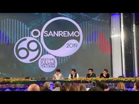 Conferenza stampa finale Sanremo 2019: Mahmood, Ultimo, Il Volo e Daniele Silvestri