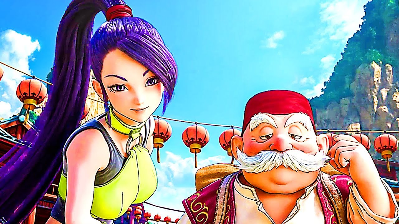 DRAGON QUEST XI : Echoes of an Elusive Age Bande Annonce ...