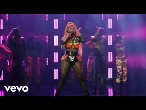 Nicki Minaj – Barbie Dreams, Ganja Burns & FEFE (Live From The Ellen Show 2018)