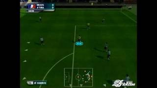 World Tour Soccer 2006 PlayStation 2 Gameplay - Goal!