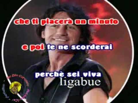 Ligabue - Viva (karaoke - fair use)