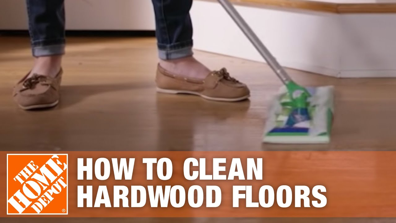 How To Clean Hardwood Floors Floor Care The Home Depot You