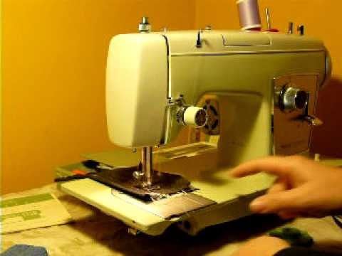 KENMORE 40 SEWING MACHINE HEAVY DUTY 4040AMP YouTube Classy How To Thread A Sears Kenmore Sewing Machine Model 2142