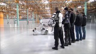 في الوقت الذي تستعد به دبي للسيارة الطائرة... هل هذه الدراجة الطائرة ستصل؟