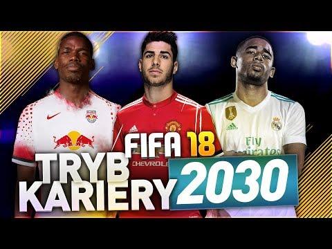 FIFA 18   TRYB KARIERY W 2030 ROKU!