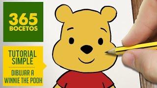 COMO DIBUJAR A WINNIE THE POOH KAWAII PASO A PASO - Dibujos kawaii faciles - draw a Winnie the Pooh