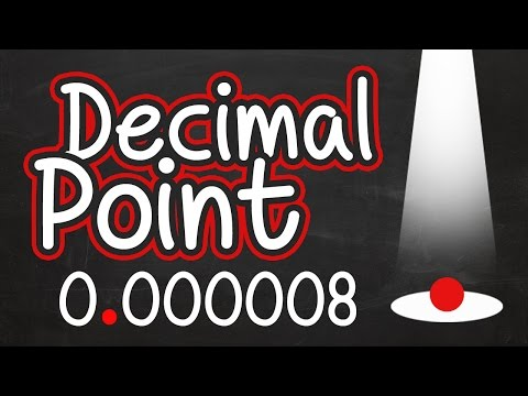 Decimal Point Video for Kids: Place Value and Reading Numbers with a Decimal Point