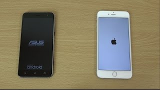 Asus Zenfone 3 vs Apple iPhone 6S+ – Speed & Camera Test!