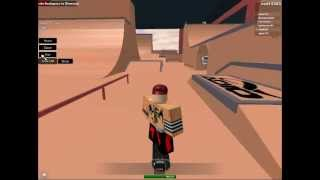 Roblox---Skateboarding with Citykid4